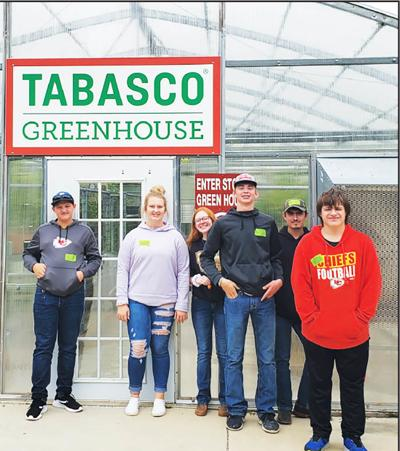 - Fordland FFA chapter members visit Tabasco Greenhouse in Avery Island, La.