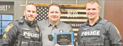 - Thanks to neighboring sheriff
