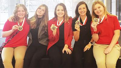 - Seymour High School's FCCLA Club competed and volunteered in competition