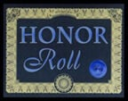 - Honor roll