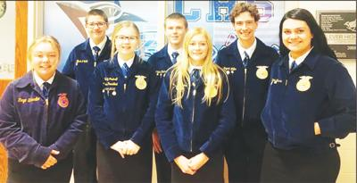 - Seymour FFA chapter competed in area speech contest