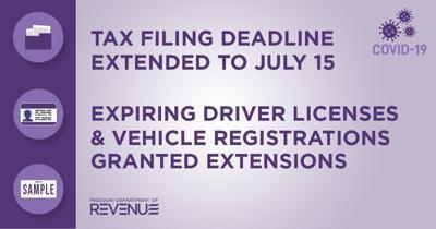 - Tax filing deadline extended