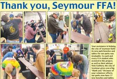 - Thank you, Seymour FFA