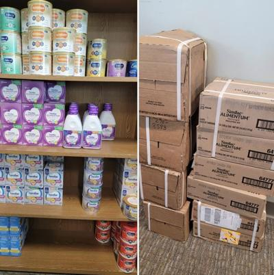 - Webster County Health Unit - Baby formula available