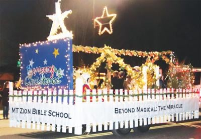 - Seymour Christmas Parade first-place float