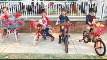 - Decorated-bike Winners Ages 6 To 8