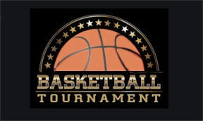 - Basketball tourney logo
