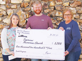 - Seymour Nazarene Church receives GSAF grant for its children's activities and youth program