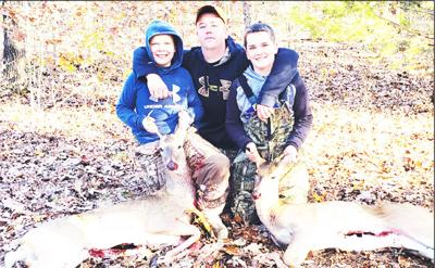 - Brothers Cantrell deer-hunting success on opening morning of youth season