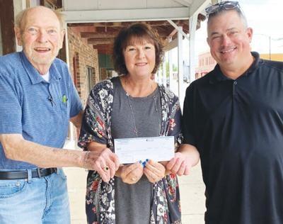 - Seymour Area Arts Council receives C.A.R.E.S. Act check
