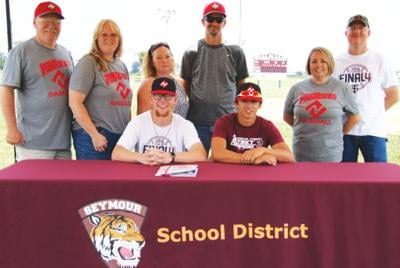 - Carson and Helms sign to play college baseball