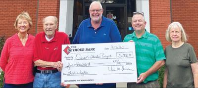 - Seymour Area Arts Council received $5,000