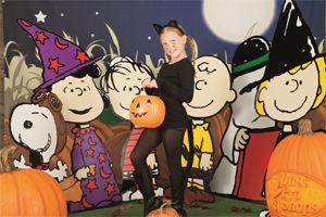 classic peanuts characters charlie brown snoopy linus sally and lucy