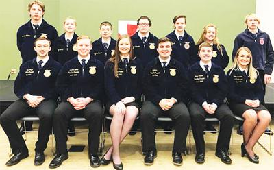 - Seymour FFA at leadership event