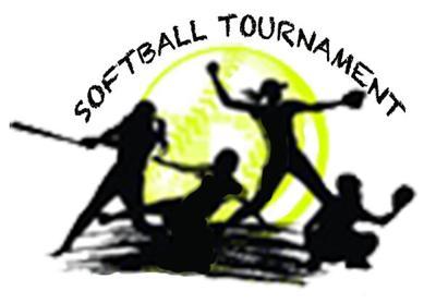 - softball tourney logo
