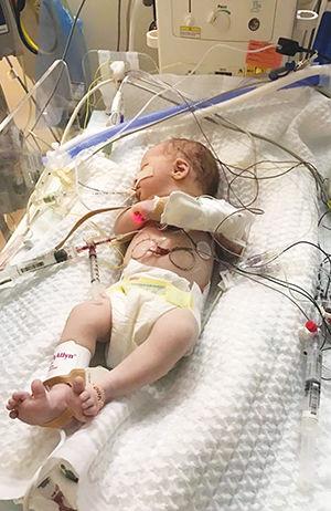 Newborn Ivy Ruth Johnson