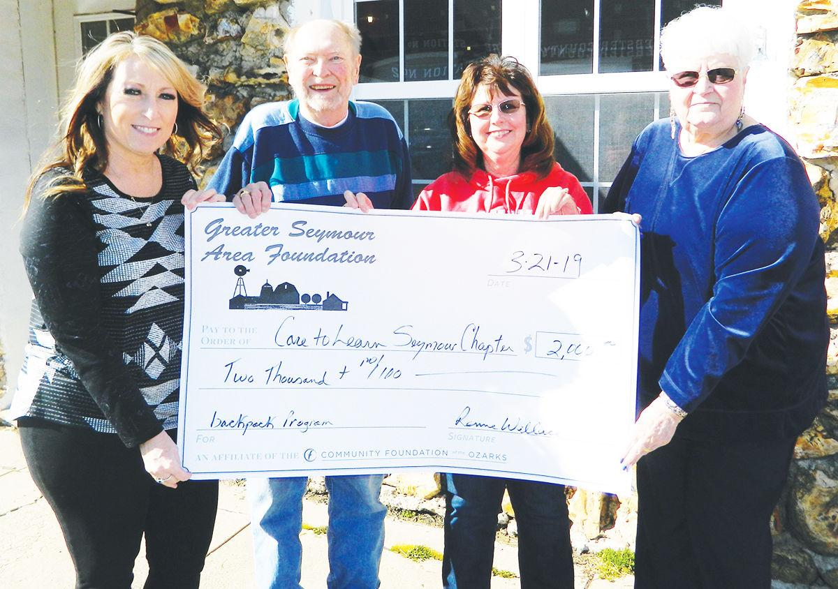 Greater Seymour Area Foundation (GSAF) awarded nearly $10,000 in annual  grants