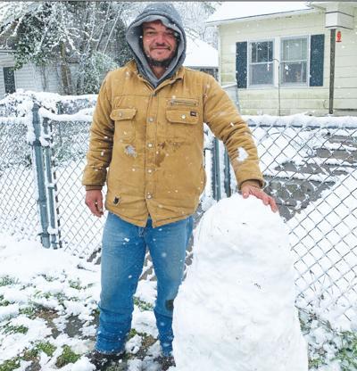 - Wanna build a snowman ... in April?