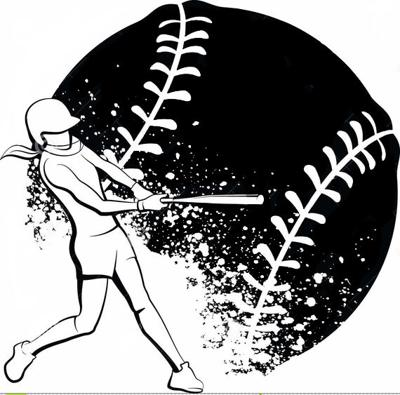 - softball logo