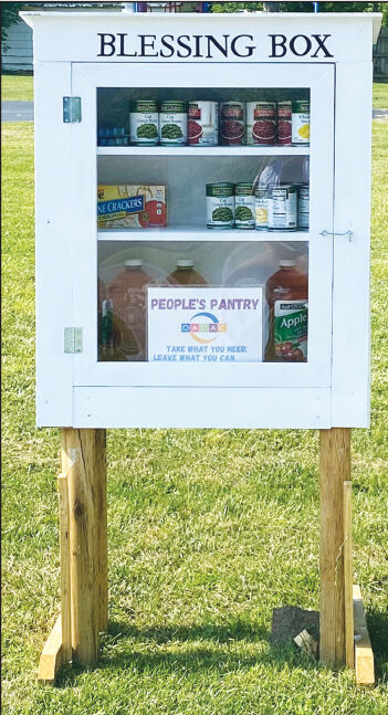 - People's Pantry' is open