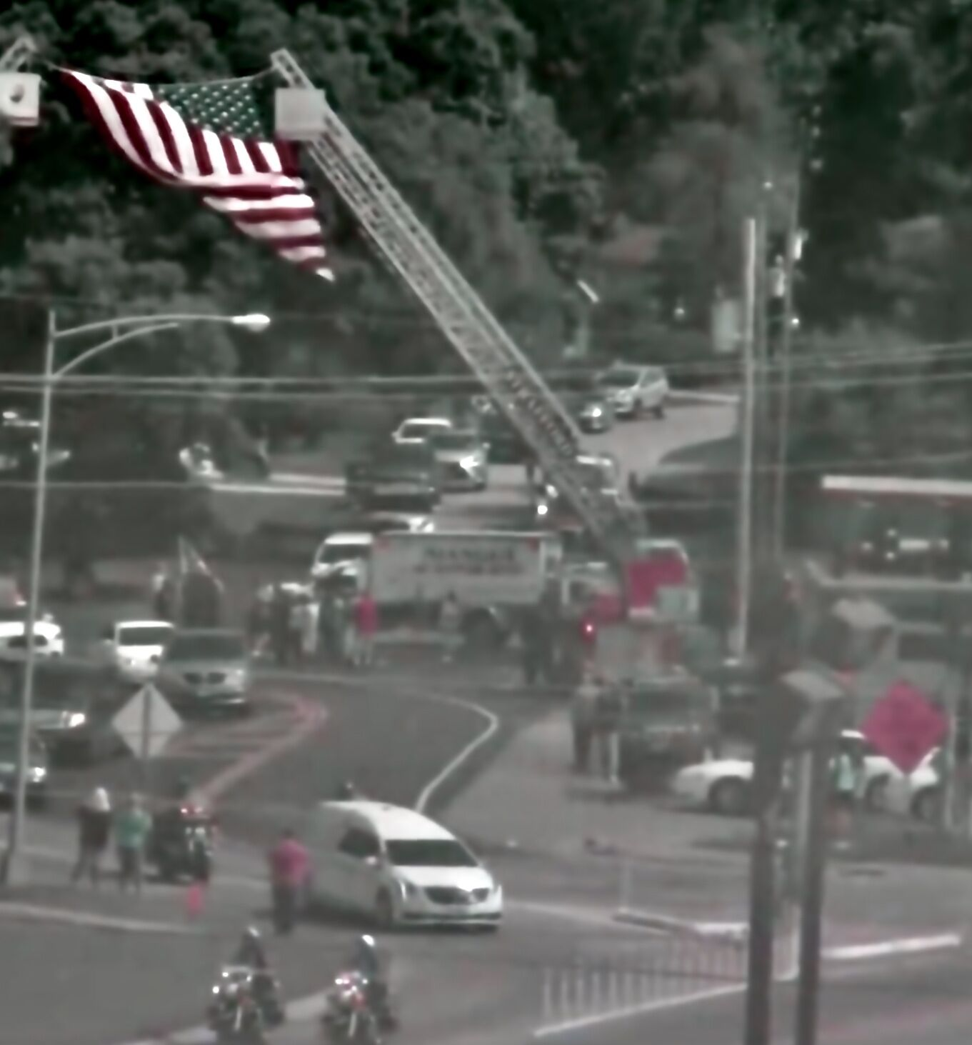 - Funeral procession honors Sgt. Justin Burney