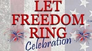 - 'Let Freedom Ring' is Saturday