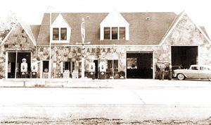 Old Standard Oil service station