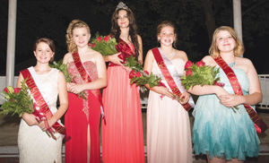 2016 Apple Festival Queen and Court