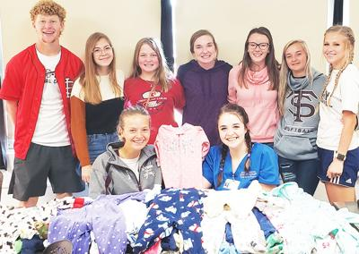 """- SHS FCCLA students participate in """"Sleepers In September"""" campaign"""