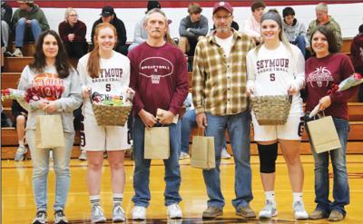 - Senior Night for SHS girls' basketball