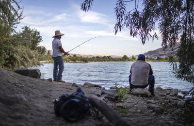 Photo: An evening of fishing at Putters Lake