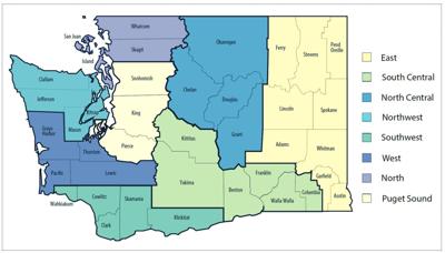 Healthy Washington - regions