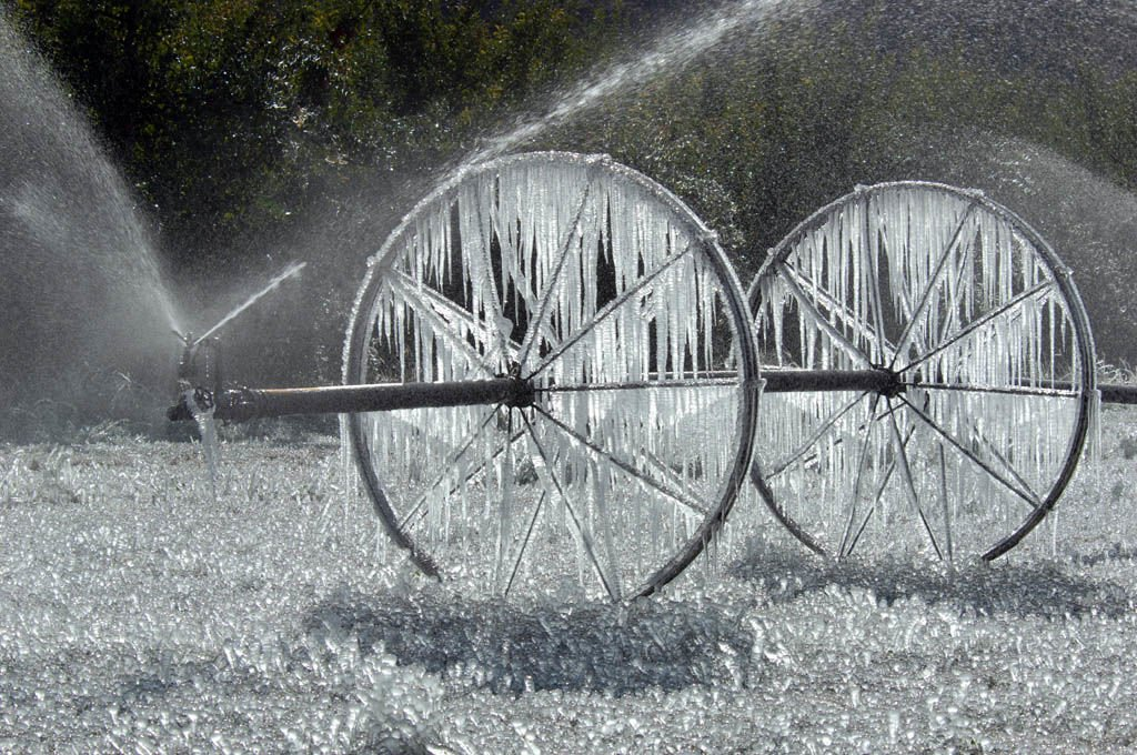 Record cold hits region; snow on the way