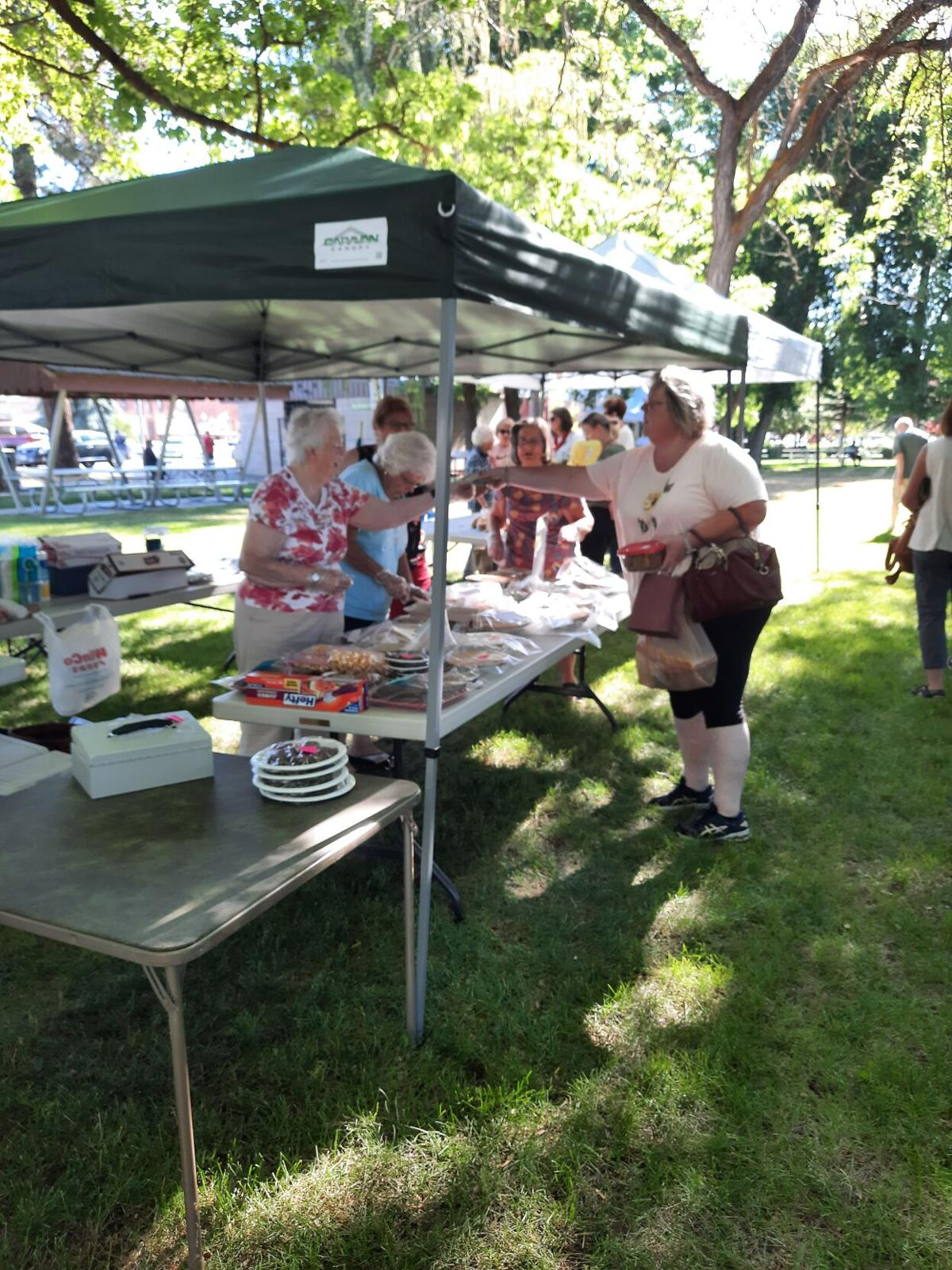 Baked goods were a popular item at this weekend's Farmers Market.jpg
