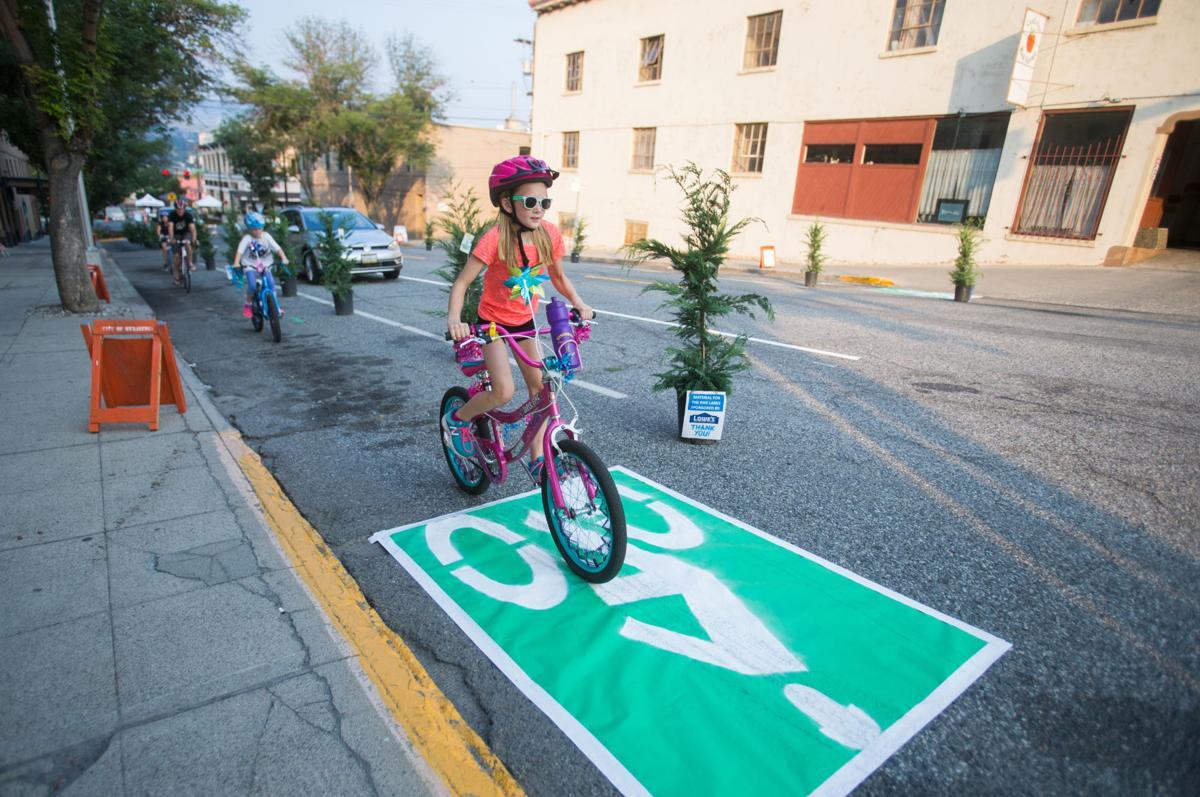 Wenatchee bike lane