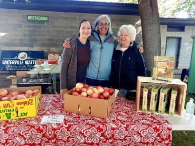 Katie Oberweiser, Lisa Davies, and Cathy Clark