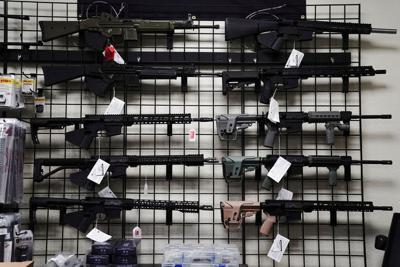 "FILE PHOTO: Firearms Unknown as Biden considers legislation restricting ""ghost guns\"