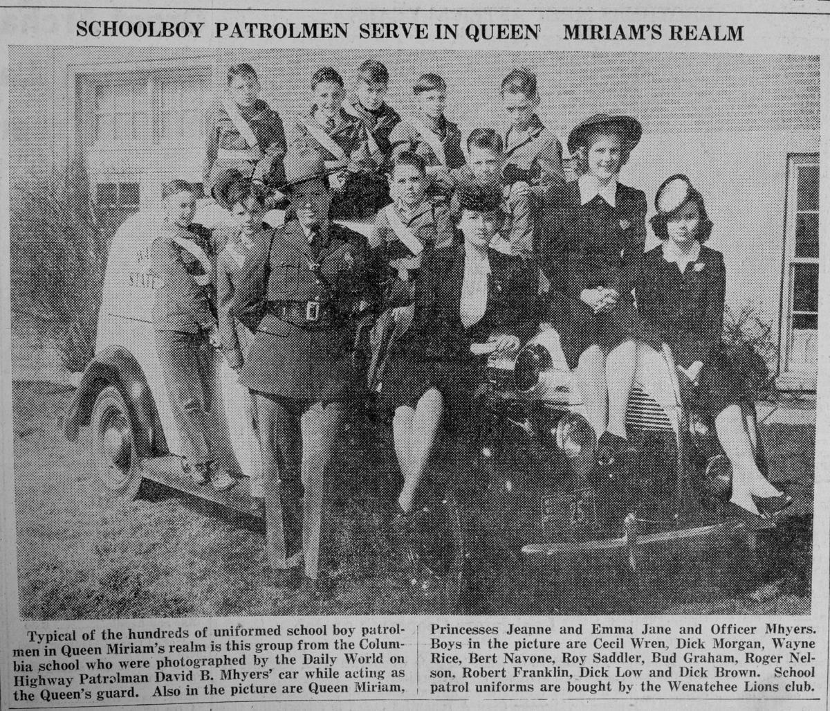 1940-1941: Trumpet call opens festival; Walker Street kids on parade