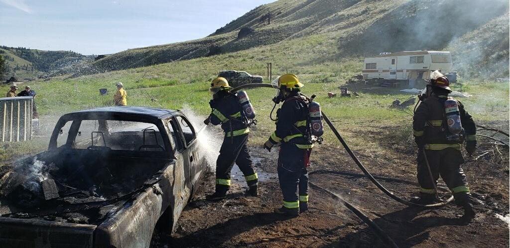6-10-19 McNeil Canyon fire, 2