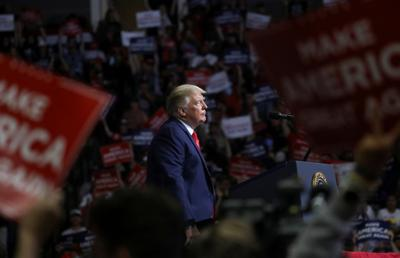 U.S. President Donald Trump holds his first re-election campaign rally in several months in Tulsa, Oklahoma