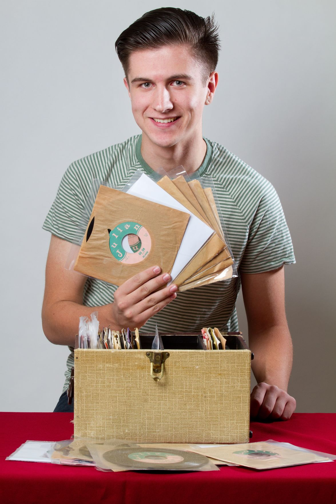 For the record: Music fan builds an archive of old record label