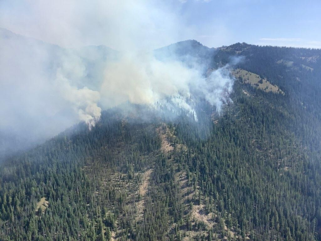 Chikamin Ridge fire.jpg