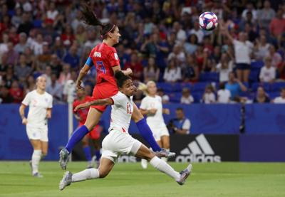 FILE PHOTO: Women's World Cup - Semi Final - England v United States