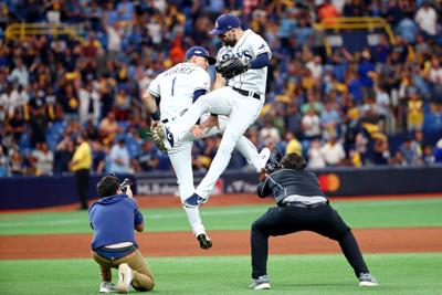 MLB: ALDS-Houston Astros at Tampa Bay Rays
