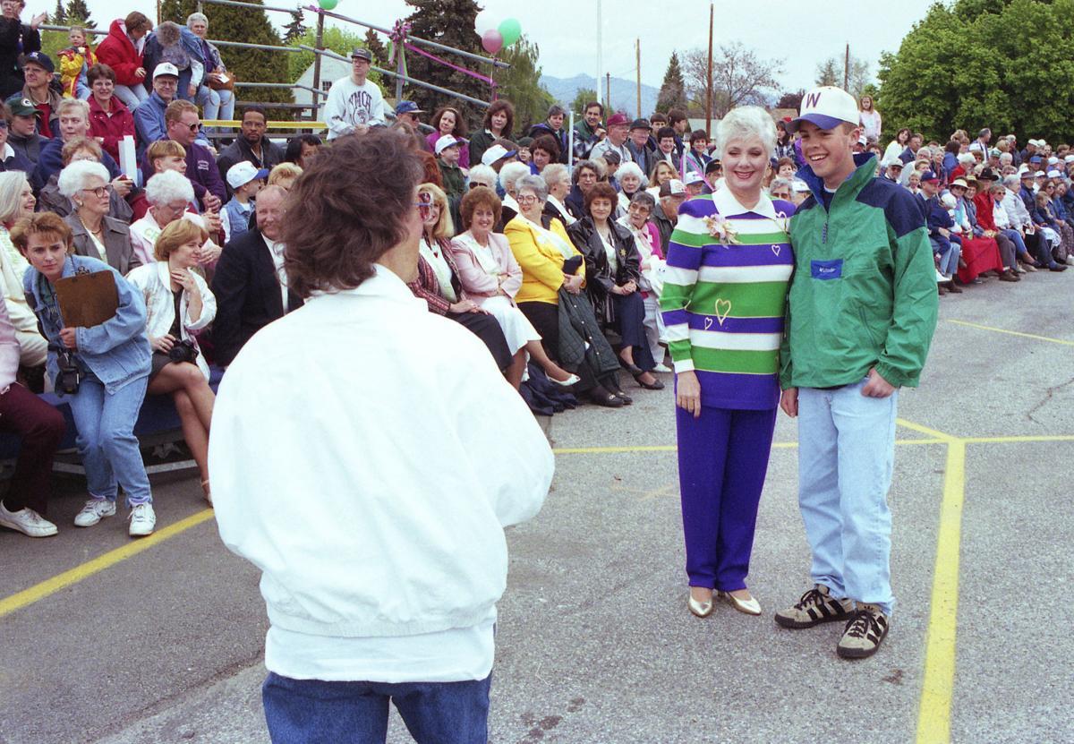 1996-1997: A run around the Loop Trail; 'Mrs. Partridge' thrills crowds