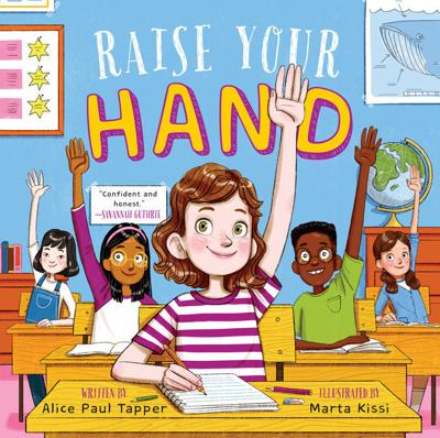 Kelli Scott   A message for young girls: Raise your hand