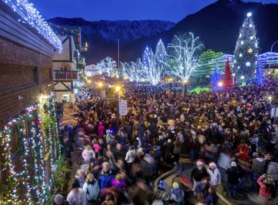 Leavenworth Christmas Lights.Three Ways To Beat The Lighting Festival Crowds In