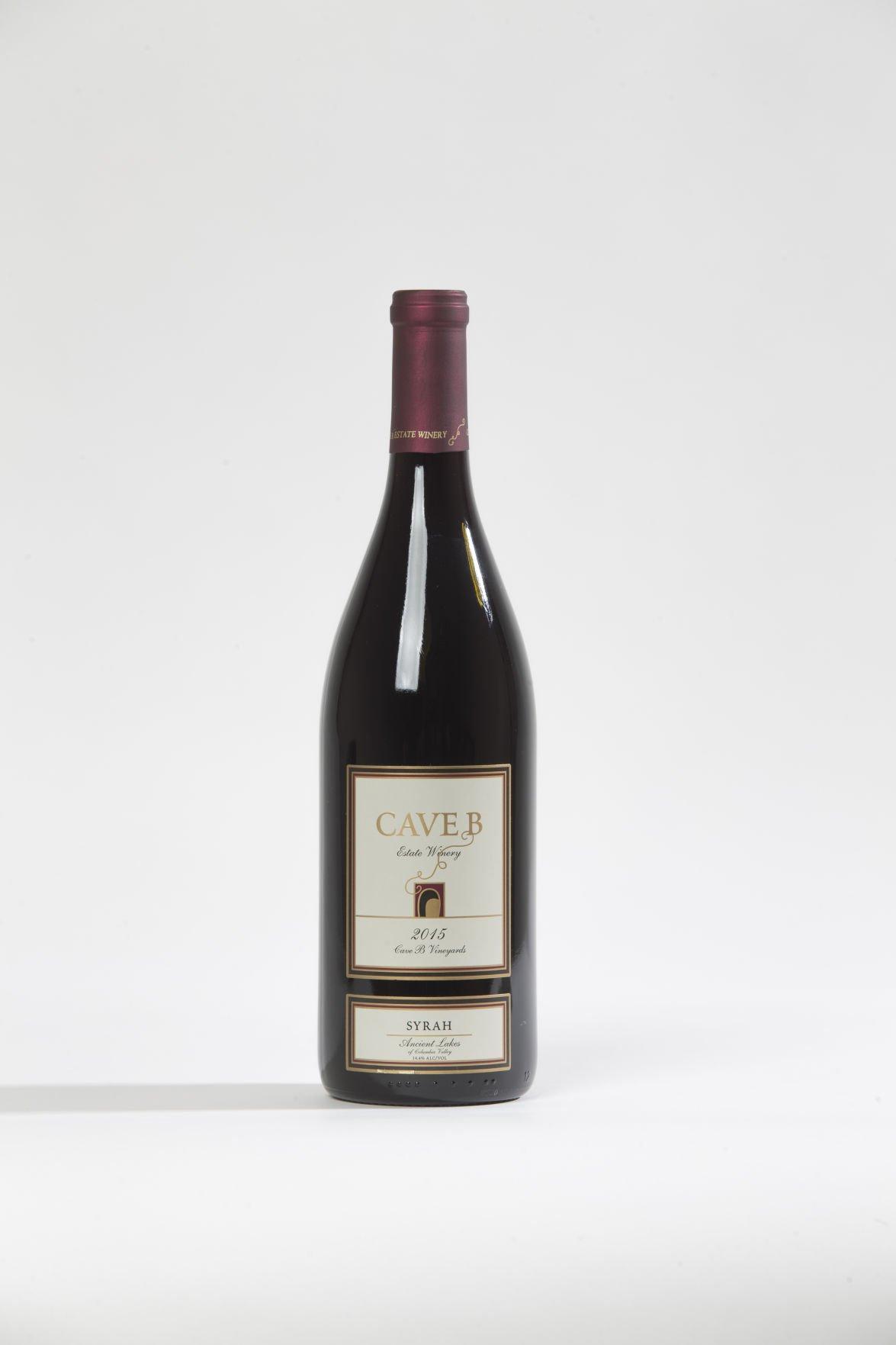Cave B Estate Winery 2015 Syrah