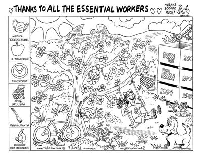 Thanks to essential workers