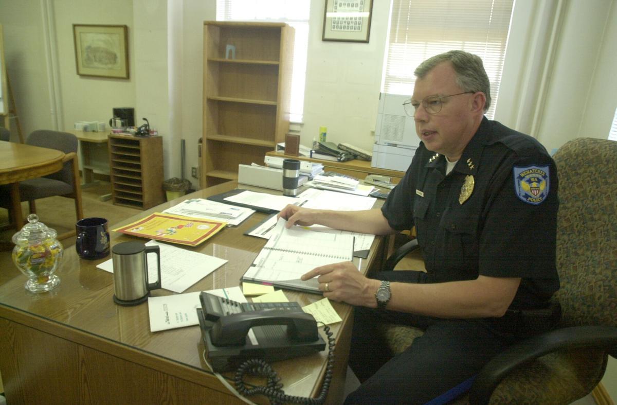 Wenatchee Police Chief Tom Robbins